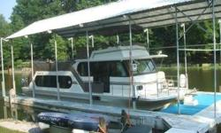 One of only four (4) models of this class and type with very low hours on the engines and gen set. Kept in it's own cover slip behind the owners summer home. This vessel is well attended and in great shape. It certainly is a great, safe buy. This one you