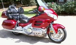 Having to Re-List Due To Non-Paying Bidder* I am selling this Mint Condition 2004 Goldwing for an 82 year old friend of mine who can no longer ride. Only 13K miles! One Owner! Always garaged. Never dropped. Completely stock; bag liners and