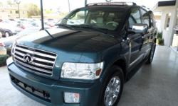 Infiniti QX56 Base 4WD 4dr SUV Automatic 5-Speed GREEN 110091 8-Cylinder 5.6L2004 SUV Ace Motors 714-635-7300