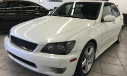 CLICK FOR FULL INVENTORY: http://5starautos.net/  916-368-7886  3,000 DOWN ! NO CREDIT OK!!! WE DO NO CREDIT CHECK & NO INTEREST FINANCING!!! 2004 LEXUS IS 300 4DR WHITE! INLINE 6* VERY CLEAN! LOADED* NAVIGATION* DRIVES NICE! PASSED SMOG! AND
