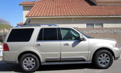 WELL KEPT 2004 LINCOLN NAVIGATOR.ALL THE BELLS & WHISTLES 86,777 MILES 8 SEATER, AC,REVERSE SENSOR, 6 CHANGE CD, DVD PLAYER, AUTOMATIC REAR SEATS, AUTOMATIC STEP, SUN ROOF PLEASE CALL CRAIG 520-409-1272 WITH ANY QUESTIONS OR TO TEST DRIVE