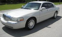 2004 Lincoln Town Car Ultimate Edition Less than 50K miles on New Motor and Transmission installed 2 years ago. Very Good Condition Runs and drives perfect. rpmmotorsllc.com 561-929-2408