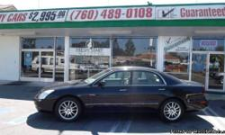 COME CHECK OUT THIS 2004 MITSUBISHI DIAMANTE EXCELLENT CONDITION 6 CYLINDER BLACK EXTERIOR AND TAN INTERIOR. COMPLETE WITH LEATHER AND A MOON ROOF! FRESH START MOTORS TAKES PLEASURE IN APPROVING PEOPLE WITH BAD AND NO CREDIT. YOU CAN DRIVE THE CAR YOU