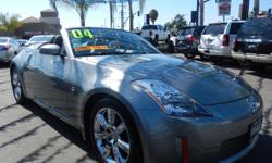 Welcome to 562 Auto Ezchange at 13110 Lakewood Blvd Bellflower CA 90706 **562-529-8800** Come and take a look at this silver 2004 Nissan 350Z Stock#015248. We finance anyone NO credit ok, NO license ok, repos OK, your job is your credit , we