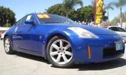 EZ 2 Drive Auto Sales EZ4736 . Price: $10988 Exterior Color: Blue Interior Color: Black - Cloth Fuel Type: 20G / Gasoline Drivetrain: Rear Wheel Drive Transmission: 6 Sp Manual Engine: 3.5L V6 Cylinder Engine Doors: 2 Dr Bodystyle: Coupe Type / Title: