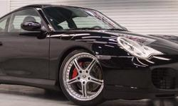 $488.00 monthly payment.apply for credit here : https://vpix.us/credit/dealer/jordanmotors10west/ This beautiful 2004 Carrera 4S 996 looks absolutely stunning finished in Black with black leather interior and the aftermarket wheels are an