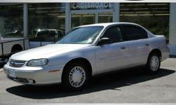 2004 CHEVROLET MALIBU CLASSIC! Ultra Low 69K Miles! Very well cared for Inside and out! Power Windows/Locks and Mirrors! Silver Exterior Gray Cloth Interior. Great Tires 4Cyl Gas saver with easy to drive automatic Transmission! Factory books/Keys! All of