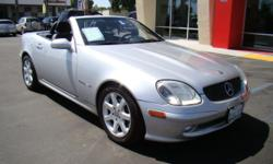 Price just dropped $4000! Take a ride in this sporty trim of the world's most luxurious and reliable brand of vehicle! This hip 2-door roadster will blow you mind - and then blow your hair has you roll back the hard top convertible roof! Sleek silver with