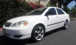 AUTOMATIC, AIR CONDITIONING, AM/FM STEREO, ABS,PREMIUM WHEELS,CD STEREO, CLEAN TITLE, RUNS GREAT, 4 CYLINDERS  CALL  562-741-7104