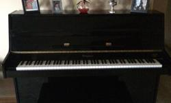 2004 Bergmann Upright Piano I am selling my Bergmann Upright Piano! It is in excellentcondition but will need a tuning after being moved. Reason for selling is we are moving and don't have the extra room. Piano/bench comes included with TONS of