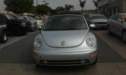 THIS IS A VERY NEAT 04 VW BEETLE!!!! CARFAX CERTIFIED ONE OWNER!!! GREAT CONDITION!! GOOD MILES AND IT IS A CONVERTIBLE!!! CATCH YOUR BREATH WITH THIS ONEZ!!! VERY SMOOTH TO DRIVE AND IS SUCH A GOOD MONEY SAVER!!! GAS IS GREAT ON THIS VEHICLE!! AND IT CAN