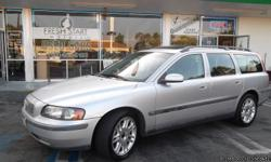2004 VOLVO V70, 25 TWIN TURBO AUTOMATIC, FULL POWERED PACKAGE! COMPLETE WITH GREY LEATHER INTERIOR AND SUNROOF....3RD ROW SEATING FOLDABLE! A GREAT CAR FOR ALL OCCASSIONS! PRICED AT 5995 YOU CAN'T GO WRONG! CLEAN! HERE AT FRESH START MOTORS ALL OUR