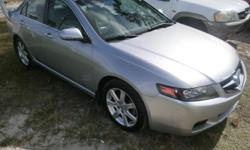 >>>>>>>>>>>>> 100% Approvals, Everybody Qualifies 2005 Acura TSX Silver over Black Leather interiors. Price: $6,590 with 145K miles Sun Roof, Front dual air bags, Aluminum alloy wheels, Tinted Glass, Power steering, Anti lock brakes, 4-wheel disc