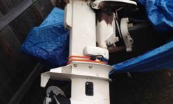 2005 Alumacraft flatbottom, 25 hp Johnson, push-button starter. Everything works fine.