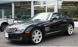 18k ORIGINAL MILES ON THIS 2005 CHRYSLER CROSSFIRE! 100% STOCK! Rare Find! 6 Speed manual Transmission Heated/Power Black Leather seats Black Exterior Alloy Wheel Package! Power Windows/Locks and Mirrors! Factory books/Mats and Key! Must be SEEN! All of