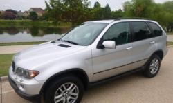 BMW X5 3.0i Automatic Silver 54504 6-Cylinder 3.0L2005 SUV Metrocrest Sales 972-243-7350