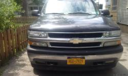 2005 Chevy tahoe, 164,000 miles in great condition, cold A/C, 4 wheel drive, new rear brakes and front brakes serviced. Cloth seats, 5.3 V-8, runs and drives terrific! Just passed inspection in April. Asking 4,900 or best offer. Text Jake at 585-500-1005