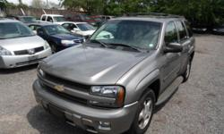 2005 CHEVY TRAILBLAZER 4X4 4 DOOR AUTO - $4400 6 CYL, 4 DOOR, AUTOMATIC 4X4 ONSTAR ONE OWNER Factory Tint, Roof Rack. Heat & Ice Cold A/C, DUAL AIRBAGS, ABS BRAKES, CRUISE CONTROL, AM/FM-CD PLAYER, ALLOY RIMS, REMOTE ALARM, Tow package RUNS AND DRIVES