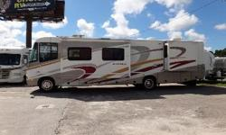 Beautiful Class A Gas motorhome with 79,000 miles, three slides, and many other features!!! Great for family outings! Call for price.