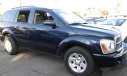 Herrera Auto Sales He4028 . Here Is A Really Durango Slt With Third Row Seating!!! Options Include A Strong 4.7 Motor, Cold Ac, 4X4 Transmission, Ally Wheels, Power Windows And Power Locks!!! This Suv Is Priced To Sell Fast And We Can Finance Almost