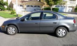 2005 DODGE NEON/SE  GRAY 2.0 L ENGINE AUTOMATIC AM/FM CD STEREO POWER STEERING MANUAL WINDOWS MANUAL LOCKS 105000 MILES RUNS GREAT HAS COSMETIC DAMAGE REAR BUMPER EXCELLENT FUEL SAVINGS GREAT COMMUTING CAR