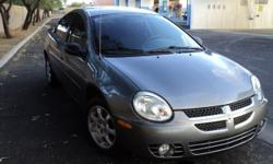 MUST SEE Dark Grey 2005 Dodge Neon SXT. 56K, Automatic with Dark Tint, A/C, CD Player, Rear Spoiler, Power Locks & Windows. Interior and Exterior in Excellent Condition.