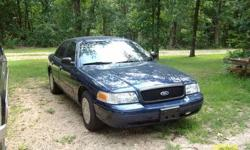 Make: Ford Model: Crown Victoria Year: 2005 Exterior Color: Blue Interior Color: Blue Vehicle Condition: Good  Price: $4,500 Mileage:126,000 mi Fuel: Gasoline Engine: 8 Cylinder Transmission: Automatic Drivetrain: All wheel drive
