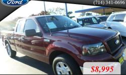 Year: 2005 Make: Ford Model: F150 Mileage: 102175 BodyStyle: 4 DOOR CAB; SUPER CAB; STYLESIDE Transmission: AUTOMATIC Color: BURGUNDY CARZFORYOU.COM Price excludes government fees and taxes, any finance charges, any dealer document preparation charge,