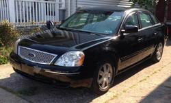 2005, 4 DOOR, FORD FIVE HUNDRED... Well maintained engine: oil changed regularly, good tires, air conditioner blows cold, 130,000 highway miles, clothe interior NO rips.Call anytime,--