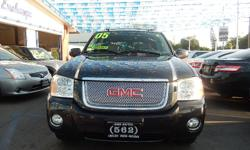 Welcome to 562 Auto Exchange at 13110 Lakewood Blvd Bellflower CA 90706 *562-529-8800* Come and take a look at this 2005 GMC Envoy Denali Stock #385190. We offer easy finance NO credit OK, NO license OK, repos OK, your jobs is your credit we offer. We