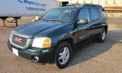 FOR ONLINE AUCTION AT REPOCAST.COM ON SEPTEMBER 8TH: 2005 GMC Envoy XL, 134,373 odometer mileage, VIN# 1GKET16S056137198, 4.2 Liter, 8-Cylinder Engine, Automatic Trans, 4X4, Power Windows, Power Locks, Cruise Control, AC, AM/FM Stereo with CD Player,