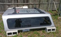 2005 gmc sierra ext cab topper fits a 6 foot bed comes with key to lock $450 or best offer