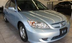 CLICK FOR FULL INVENTORY: http://5starautos.net/  916-368-7886  2,500 DOWN ! NO CREDIT OK!!! WE DO NO CREDIT CHECK & NO INTEREST FINANCING!!!  2005 HONDA CIVIC HYBRID! SILVER/BLUE VERY CLEAN!* GREAT MPG** DRIVES NICE! PASSED SMOG! AND ALL