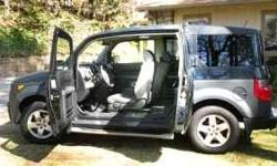 Fully Loaded 2005 Honda Element Bluebook is $15,000.00 with 72,000 miles asking $10,750.00 side airbags Satellite Radio (must be activated, it is a monthly subscription) AWD( all wheel drive, 4 wheel drive) automatic transmission plug for your I-pod or