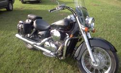 2005 Honda Shadow Aero. 750 cc's. Like new. Only 4046 miles!!!!! Excellent buy. Asking $4000. No Paypal accepted. Please don't ask.