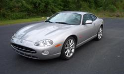 ANY QUESTIONS JUST EMAIL ME: dantedssalmon@ukcool.com . 2005 Jaguar XK8 Coupe Series 1 Phase 2b. This rare, lovely well preserved example is the XK8 coupe that Jaguar aficionados are seeking. Fabulous Platinum Silver Metallic. The best of the production