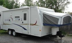 Price: $4200 -- Great condition, everything works -- 2005 JAY FEATHER 21J HYBRID TRAVEL TRAILER-- Contact me through contact seller button for more photos and vehicle location.