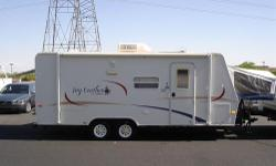 Price: $5000 -- Great condition, everything works --2005 Jayco Jay Feather 21J Travel Trailer-- Contact me through contact seller button for more photos and vehicle location.