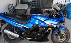 2005 Kawasaki Ninja 500R for sale, one owner, clean title, blue metallic, runs and looks great, only 8,500 miles. Just spent 450 dollars on tune up. Ready to drive! Call or text Tony (818) 404-1785 CASH only in person.