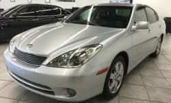 CLICK FOR FULL INVENTORY: http://5starautos.net/  916-368-7886  3,500 DOWN ! NO CREDIT OK!!! WE DO NO CREDIT CHECK & NO INTEREST FINANCING!!! 2005 LEXUS ES 330 4DR SILVER! LUXURY* VERY CLEAN! LOADED* LEATHER* DRIVES NICE! PASSED SMOG! AND ALL