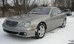 *~* 2005 Mercedes-Benz C Class CL500 Coupe *~* Silver with Black Leather Interior, Wood Trim 5.0L V8 Engine, 7 Speed Automatic, 112k Miles Heated Seats, All Power Options, Cruise Control  Cars R Us of Kingston 72 Route 125 Kingston, NH 03848