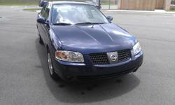 2005 NISSAN SENTRA S LOW MILEAGE - $6,500 CASH or Finance it through any bank. *****GAS SAVER***** CLEAN TITLE - NO ACCIDENT - CLEAN - automatic transmission  VIN: 3N1CB51D45L526859  Very clean, I will sign the title and it's