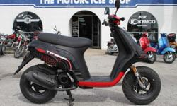 on/off road style scooter, perfect of r.v./camping. plenty of power with 2 stroke engine, only 817 miles. The Motorcycle Shop 2423 Austin Hwy San Antonio, TX 78218 210 654-0211 http://www.themotorcycleshopsa.com