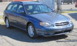 2005 Subaru Legacy Wagon Symetrical AWD Will be auctioned at The Bellingham Public Auto Auction. Saturday, August 6, 2016 at 11 AM. Preview starts at 8 AM Located at the corner of Kentucky & Iron Streets in Bellingham, Washington. Call 360-647-5370 for