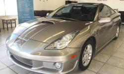 CLICK FOR FULL INVENTORY: http://5starautos.net/  916-368-7886  2,500 DOWN ! NO CREDIT OK!!! WE DO NO CREDIT CHECK & NO INTEREST FINANCING!!!  2005 TOYOTA CELICA GT HATCHBACK COUPE* 5-Speed Manual* GAS SAVER* DRIVES NICE! PASSED SMOG! AND