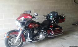31,000 Miles Just had a 5,000 mile service at South Valley Harley Davidson 7/8/16. Accessories: Passenger Armrest with Cup Holder and Passenger Cruise Pegs. Custom Side Mirrors, New Windshield. Comes with Heavy Motorcycle Cover Harley Emblem on front.