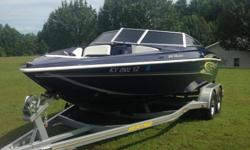 For sale 2006 Baja Islander, 22 ft. Metallic Silver in color, 5.0 - 220 hp, thru hull exhaust, am/fm cd player. It has 267 hours, we are the second owners and when we bought ,it had 35 hours on it. Always garage kept , serviced regularly, and has minor