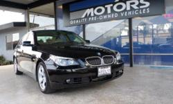 BMW 5 Series 525i Other BLACK 57655 6-Cylinder 3.0L2006 Sedan Ace Motors 714-635-7300