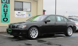 Mileage: 91,469 Stock #: 1023 VIN #: WBAHN83596DT62577 Trans: 6 Speed Automatic Color: Jet Black Interior: Black Leather Vehicle Type: Sedan State: WA Drive Train: RWD Engine: 4.8L V8 DOHC 32V Do you crave luxury, but just can let go of that urge for