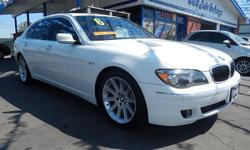 Welcome to 562 Auto Exchange at 13110 Lakewood Blvd Bellflower CA 90706 *562-529-8800* Come and take a look at this 2006 BMW 750Li Stock#T34097. We offer easy finance NO credit OK, no license OK, repos OK, your job is your credit. We offer multiple